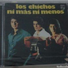 CDs de Música: LOS CHICHOS / CD PRECINTADO / NI MÁS NI MENOS / RUMBA POP FLAMENCO. Lote 134089857