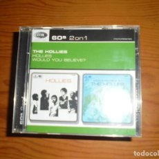 CDs de Música: THE HOLLIES. HOLLIES / WOULD YOU BELIEVE ? 60 S, 2 ON 1. CD. IMPECABLE. Lote 134103930