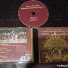CDs de Música: CD SEMANA SANTA BANDA DE MUSICA DEL REGIMIENTO INMEMORIAL REY N 1 CONCIERTO EN EL TEATRO LOPEZ VEGA. Lote 134123078