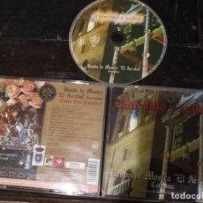 CDs de Música: CD SEMANA SANTA SEVILLA CARMONA ENTRE LIRIO Y AZAHAR BANDA DE MUSICA EL ARRABAL . Lote 134123130