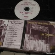 CDs de Música: CD SEMANA SANTA SEVILLA LAS CIGARRERAS BANDA DE MUSICA MARIA SANTISIMA DE LA VICTORIA. Lote 134123578