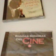 CDs de Música: G-HPX23 LOTE DE DOS CD BANDAS SONORAS DEL CINE NUEVOS PRECINTADOS EL 3 Y 4 . Lote 134129454