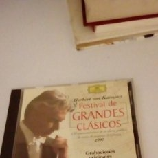 CDs de Música: G-HPX23 FESTIVAL GRANDES CLASICOS HERBERT VON KARAJAN . Lote 134129522