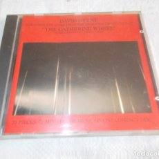 CDs de Música: DAVID BYRNE THE CATHERINE WHEEL . Lote 134130998