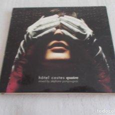 CDs de Música: HÔTEL COSTE QUATRE MIXED BY STÈPHANE POMPOUGNAC. Lote 134173026