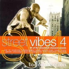CDs de Música: VARIOUS - STREET VIBES 4 (2XCD, COMP) LABEL:SONY MUSIC TV, WARNER.ESP, GLOBAL TELEVISION CAT#: RADC. Lote 134232946