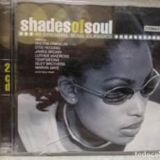 CDs de Música: CD - SHADES OF SOUL - 40 ORIGINAL SOUL CLASSICS. Lote 134241226
