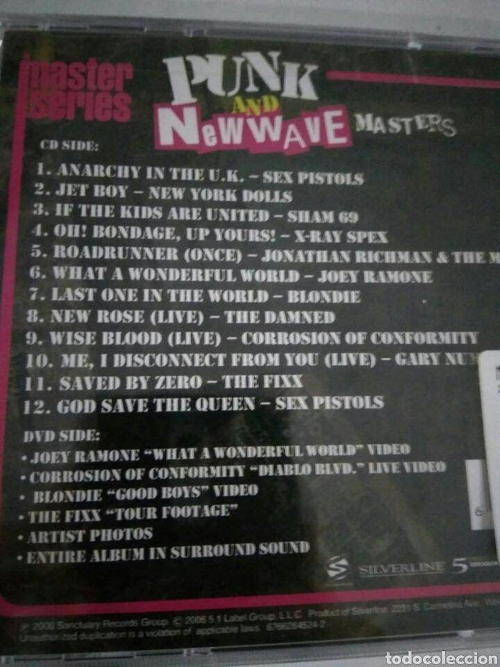 CDs de Música: CD + dvd álbum Punk and New wave masters nuevo - Foto 2 - 134244594