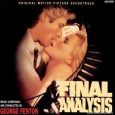 CDs de Música: FINAL ANALYSIS / GEORGE FENTON CD BSO. Lote 205734302