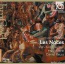 CDs de Música: IGOR STRAVINSKY - LES NOCES (CD) RIAS KAMMERCHOR, MUSIKFABRIK, DANIEL REUSS. Lote 134271434