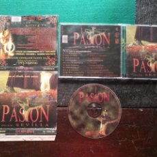 CDs de Música: CD LA PASION SEGUN SEVILLA SEMANA SANTA , POR MAESTRANTE - ESPECIAL - SIN LIBRETO - VER FOTOS. Lote 134274010