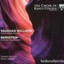 CDs de Música: VAUGHAN WILLIAMS , BERNSTEIN - DONA NOBIS PACEM, CHICHESTER PSALMS (SACD) BRITTEN SINFONIA. Lote 134279566
