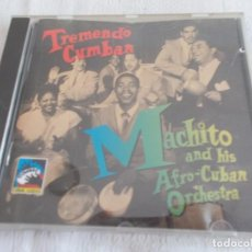 CDs de Música: MACHITO AND HIS AFRO-CUBAN ORCHESTRA TREMENDO CUMBAN. Lote 134293522