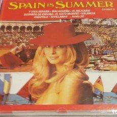CDs de Música: SPAIN IS SUMMER / VACACIONES... / CD - PERFIL / 20 TEMAS / CALIDAD LUJO.. Lote 134320262