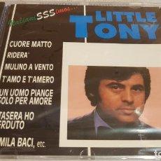 CDs de Música: LITTLE TONY / ITALIANISSIMOS / CD - PERFIL / 12 TEMAS / PRECINTADO.. Lote 134327906