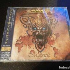 CDs de Música: GAMMA RAY - MAJESTIC - CD JAPAN EDITION WITH OBI - NEW & SEALED / NUEVO Y PRECINTADO. Lote 134332182