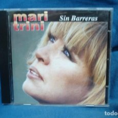 CDs de Música: - MARI TRINI - SIN BARRERAS - CD ÁLBUM DEL AÑO 1995 CONTIENE 13 TEMAS. Lote 134336938
