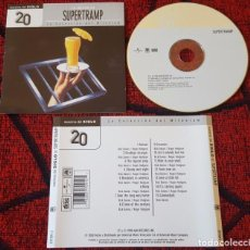 CDs de Música: SUPERTRAMP LO MEJOR CD ORIGINAL Y UNICO 2000 VENEZUELA . Lote 134364026