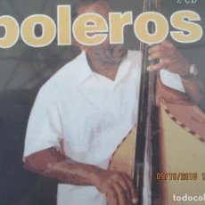 CDs de Música: BOLEROS 2 CD - GENEROS MUSICALES - ED. SEND MUSIC 2005 - A ESTRENAR . Lote 134376538