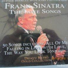 CDs de Música: FRANK SINATRA THE LOVE SONGS - 2 CD 50 CANCIONES - A ESTRENAR.. Lote 134377326