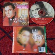 CDs de Música: JUAN GABRIEL GRANDES EXITOS VOL. 2 VENEZUELA CD 2001. Lote 134385262