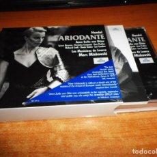 CDs de Música: HANDEL ARIODANTE ANNE SOFIE VON OTTER CAJA 3 CD + LIBRETO 1997 ALEMANIA LYNNE DAWSON BOX SET RARO. Lote 134417118
