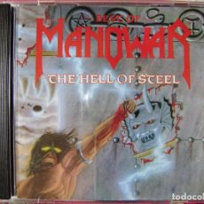 CDs de Música: MANOWAR.THE BEST OF..THE HELL OF STEEL. Lote 134432498