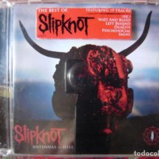 CDs de Música: SLIPKNOT.THE BEST OF...ANTENNAS TO HELL. Lote 134432714