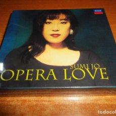 CDs de Música: SUMI JO OPERA LOVE CAJA PRECINTADA 2 CD DECCA 2000 COREA CONTIENE 19 TEMAS BOX SET MUY RARO. Lote 134435674