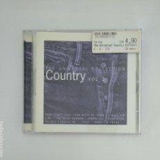 CDs de Música: THE UNIVERSAL COUNTRY COLLECTION. VOL 1. CD. VARIOS ARTISTAS. TDKV22. Lote 134502046