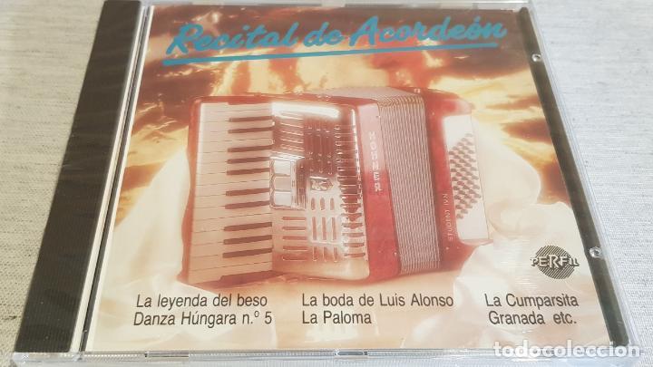 MARÍA JESÚS / RECITAL DE ACORDEÓN / CD - PERFIL / 17 TEMAS / PRECINTADO. (Música - CD's Flamenco, Canción española y Cuplé)