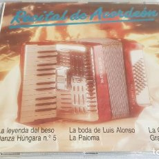 CDs de Música: MARÍA JESÚS / RECITAL DE ACORDEÓN / CD - PERFIL / 17 TEMAS / PRECINTADO.. Lote 134507574