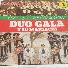 CDs de Música: DÚO GALA Y SU MARIACHI / VIVA LA REVOLUCIÓN / CD / DIVUCSA- 1989 / 14 TEMAS / PRECINTADO.. Lote 134509966