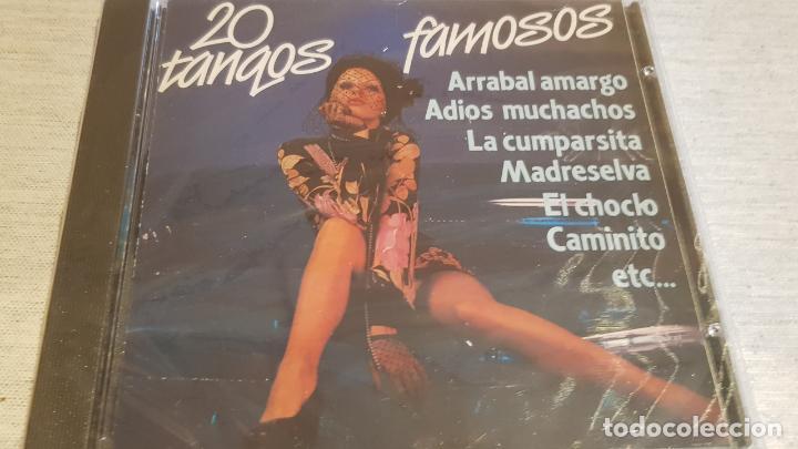 20 TANGOS FAMOSOS / ORQ. SERENATA TROPICAL Y VIOLINES DE PEGO / CD - KUBANEY-PERFIL / PRECINTADO (Música - CD's Latina)