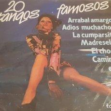 CDs de Música: 20 TANGOS FAMOSOS / ORQ. SERENATA TROPICAL Y VIOLINES DE PEGO / CD - KUBANEY-PERFIL / PRECINTADO. Lote 134511162