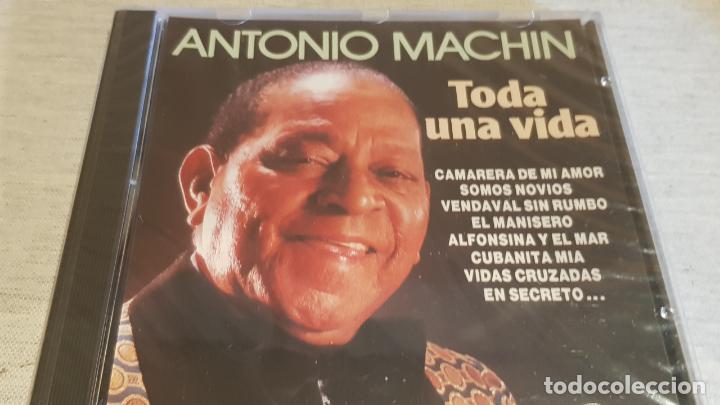 ANTONIO MACHÍN. TODA UNA VIDA. CD / DIVUCSA - 1990. 14 TEMAS / PRECINTADO. (Música - CD's Latina)
