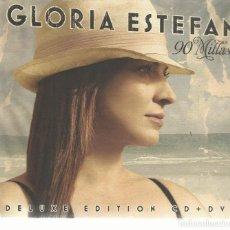 CDs de Música: GLORIA ESTEFAN - 90 MILLAS - CD + DVD SONY 2007 - DELUXE EDITION. Lote 134525918