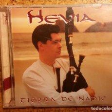 """CDs de Música: HEVIA """"TIERRA DE NADIE"""". Lote 134531598"""