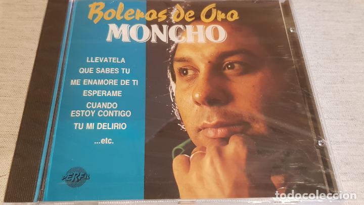 MONCHO / BOLEROS DE ORO / CD - PERFIL / 20 TEMAS / PRECINTADO. (Música - CD's Melódica )
