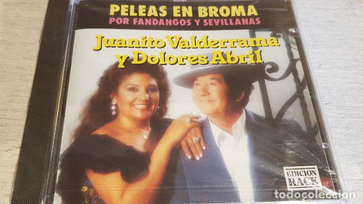 JUANITO VALDERRAMA Y DOLORES ABRIL / PELEAS EN BROMA / CD - PERFIL / 10 TEMAS / PRECINTADO. (Música - CD's Flamenco, Canción española y Cuplé)
