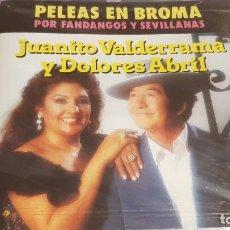 CDs de Música: JUANITO VALDERRAMA Y DOLORES ABRIL / PELEAS EN BROMA / CD - PERFIL / 10 TEMAS / PRECINTADO.. Lote 134543450