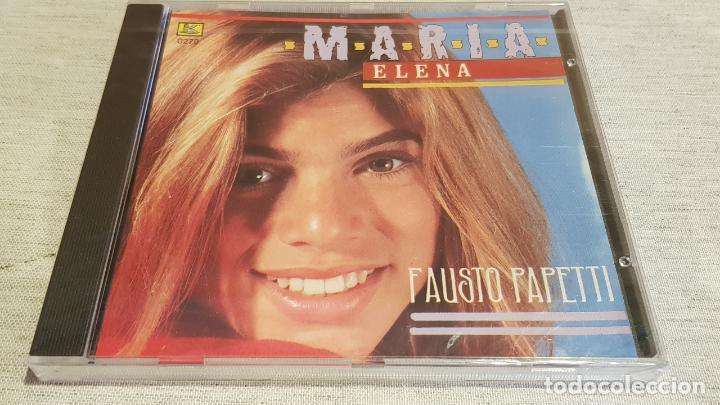 FAUSTO PAPETTI / MARIA ELENA / CD - KUBANEY / 16 TEMAS / PRECINTADO. (Música - CD's Melódica )