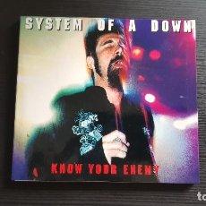 CDs de Música: SYSTEM OF A DOWN - KNOW YOUR ENEMY - CD ALBUM - SOAD - 1999 - SERJ TANKIAN. Lote 134547226