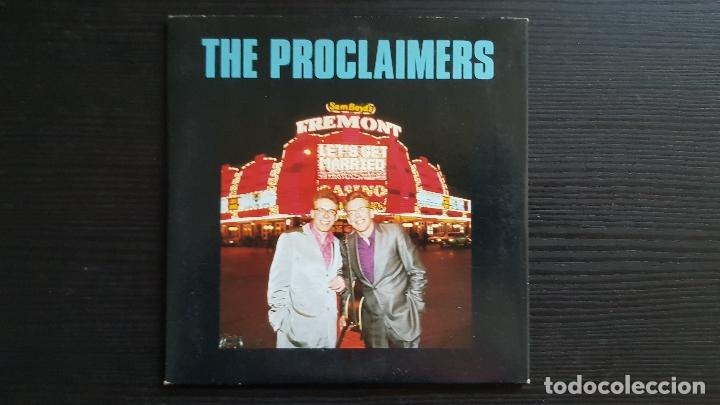 THE PROCLAIMERS - LET´S GET MARRIED - CD SINGLE - CHRYSALIS - 1994 (Música - CD's Rock)