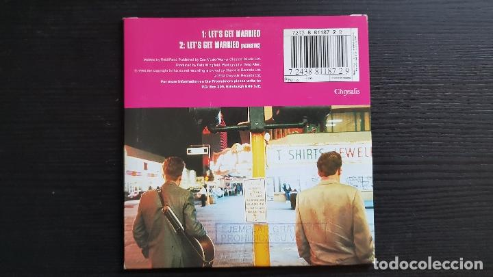 CDs de Música: THE PROCLAIMERS - LET´S GET MARRIED - CD SINGLE - CHRYSALIS - 1994 - Foto 2 - 134658410