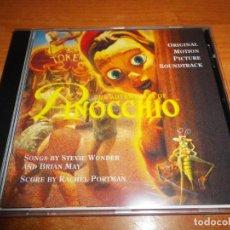 CDs de Música: PINOCCHIO BANDA SONORA ORIGINAL CD ALBUM 1996 ALEMANIA STEVIE WONDER BRIAN MAY QUEEN 14 TEMAS RAR. Lote 134669542