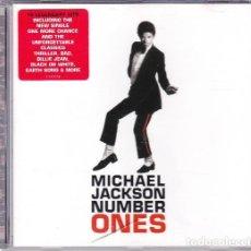 CDs de Música: MICHAEL JACKSON – NUMBER ONES (AUSTRIA, 2003). Lote 134709418