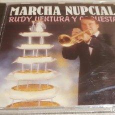 CDs de Música: RUDY VENTURA Y SU ORQUESTA. MARCHA NUPCIAL. CD / DIVUCSA - 1991. 12 TEMAS / PRECINTADO.. Lote 176205848