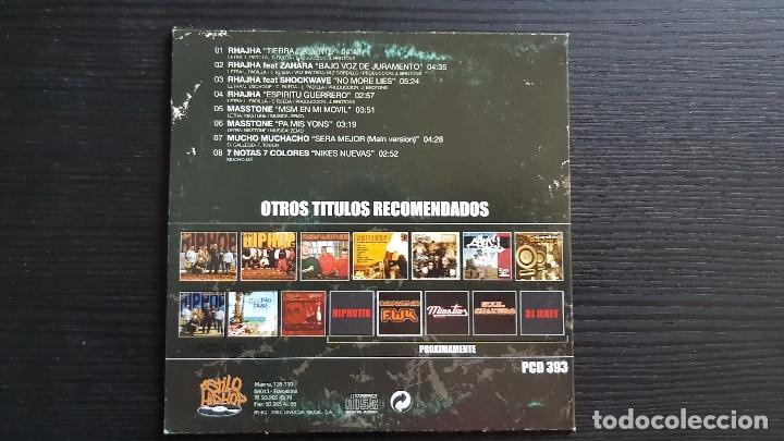 CDs de Música: RHAJHA - MASSTONE - 7 NOTAS 7 COLORES - MUCHO MUCHACHO - CD MAXI SINGLE PROMO - DIVUCSA - 2004 - Foto 2 - 134752726
