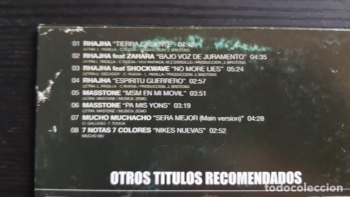 CDs de Música: RHAJHA - MASSTONE - 7 NOTAS 7 COLORES - MUCHO MUCHACHO - CD MAXI SINGLE PROMO - DIVUCSA - 2004 - Foto 3 - 134752726